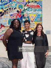 I am Jesse Owens with Keke Palmer and Jessicka Mears
